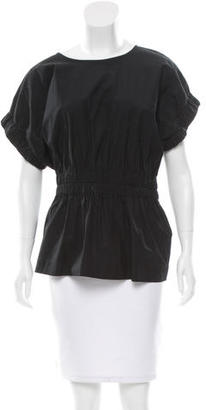 Marc by Marc Jacobs Scoop Neck Elasticized Top w/ Tags $75 thestylecure.com