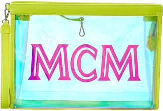 MCM Flo Hologram Zip Pouch