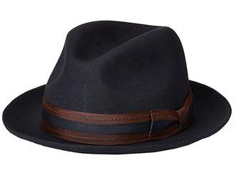 Stacy Adams Pinch Front Wool Fedora