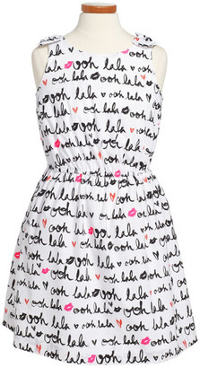 Milly Minis Ooh La La Sleeveless Dress (Big Girls) $185 thestylecure.com