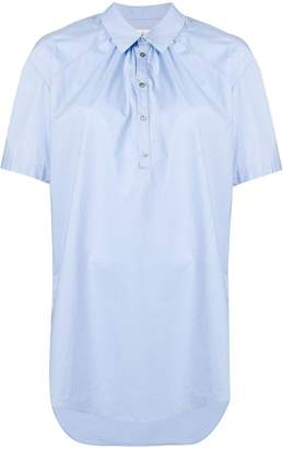 A.F.Vandevorst asymmetric hem shirt