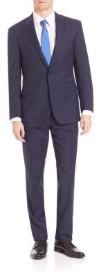 Polo Ralph LaurenPurple Label Micro Textured Suit