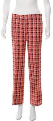 Derek Lam Tweed High-Rise Pants