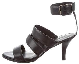 Alexander Wang Leather Multi-Strap Sandals