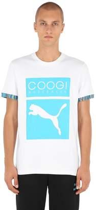Puma Select Coogi Logo Cotton Jersey T-Shirt