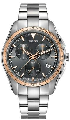 Rado HyperChrome Chronograph Bracelet Watch, 44.9mm