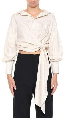 Jacquemus Striped Cropped Top