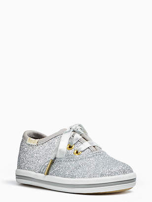 Kate Spade Keds kids x champion glitter crib sneakers