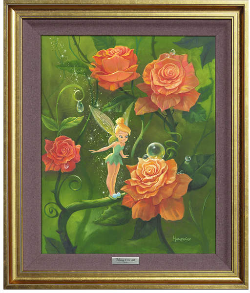 Tinker Bell's Garden Limited Edition Framed Art