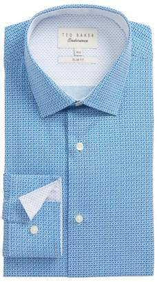 Ted Baker Porsh Slim Fit Check Dress Shirt