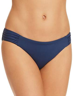 Becca by Rebecca Virtue Color Code Shirred Tab Bikini Bottom