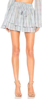 Majorelle Palmer Skirt