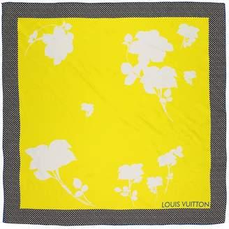 Louis Vuitton Yellow Silk Scarves