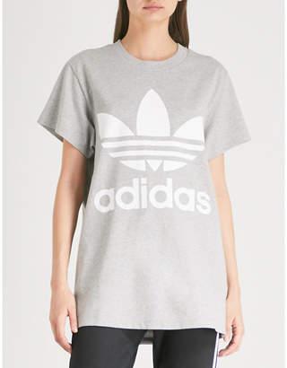 adidas Trefoil cotton-jersey T-shirt