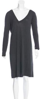 Maison Margiela Long Sleeve Knit Dress