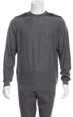 Lanvin Merino Wool Crew Neck Sweater