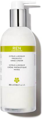 REN Clean Skincare REN Citrus Limonum Prebiotic Hand Cream (300ml)