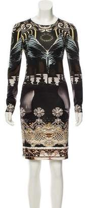 Mary Katrantzou Printed Knee-Length Silk Dress