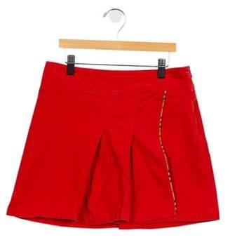 Burberry Girls' Corduroy Skirt orange Girls' Corduroy Skirt