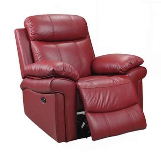 Hudson Oliver Pierce Top Grain Leather Power Recliner
