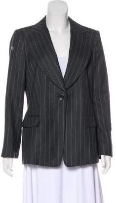 Armani Collezioni Virgin Wool Pinstripe Blazer w/ Tags