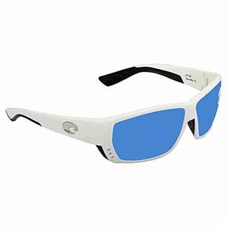 Costa del Mar Unisex-Adult Tuna Alley TA 25 OBMGLP Polarized Iridium Wrap Sunglasses