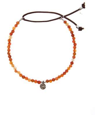 Catherine Michiels charm beaded bracelet