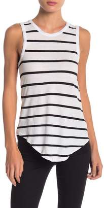 Chaser Lattice Back Striped Tank