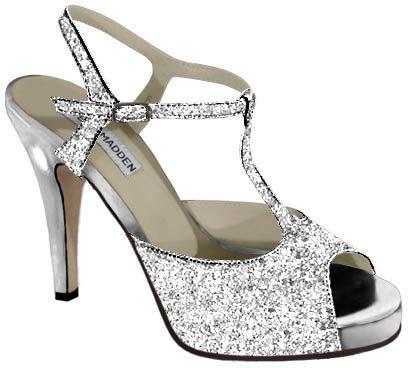 Vanessa Silver Glitter