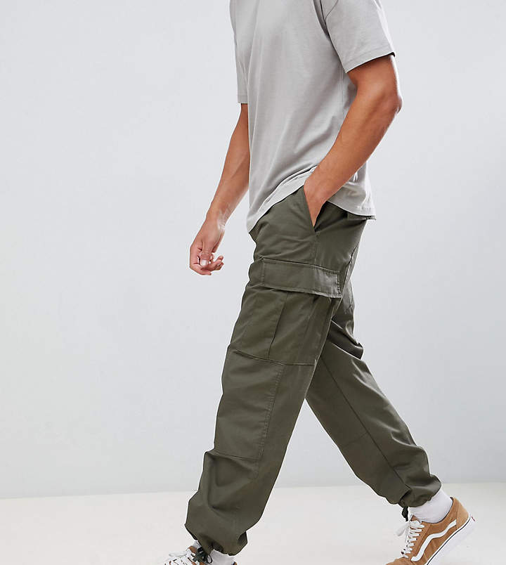 Reclaimed Vintage revived military cargo pants