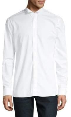 Balmain Long-Sleeve Button-Down Shirt