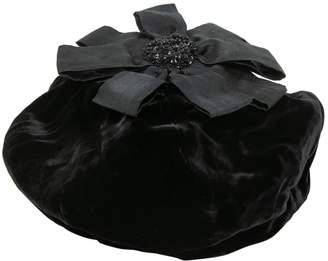 Emporio Armani Black Viscose Hats