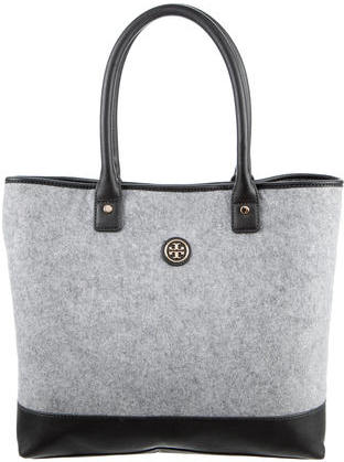Tory BurchTory Burch Leather-Trimmed Felt Tote