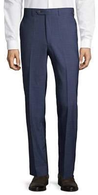 Lauren Ralph Lauren Flat-Front Suit Separate Wool Pants