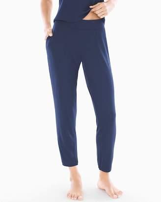 Sleep Therapy Banded Ankle Pajama Pants Navy