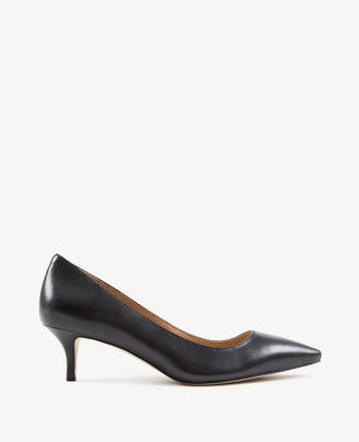 Ann Taylor Reese Leather Pumps