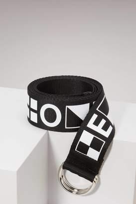 Proenza Schouler Webbing printed belt