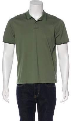 Vince Woven Polo Shirt