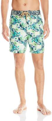 Maaji Men's Tropical Forest Swim Trunk