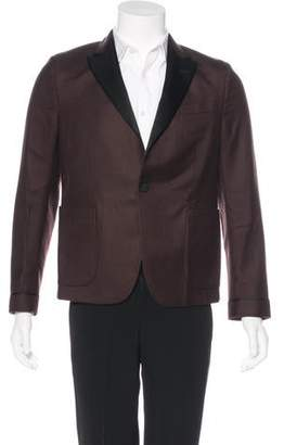 Gucci 2016 Cashmere Tuxedo Blazer