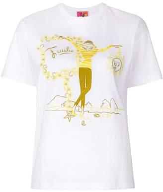 Emilio Pucci sketch print T-shirt