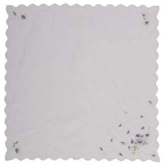 Nina Ricci Floral Cotton Scarf