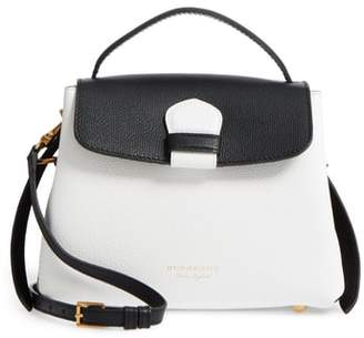 Burberry Small Camberley Derby Leather & House Check Top Handle Satchel
