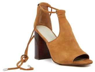 1 STATE 1.State Tilya Suede Block Heel Sandal