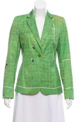 Akris Punto Printed Structured Blazer