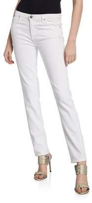 AG Jeans Prima Mid-Rise Cigarette Jeans, White