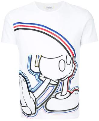 Iceberg Mickey embroidered T-shirt