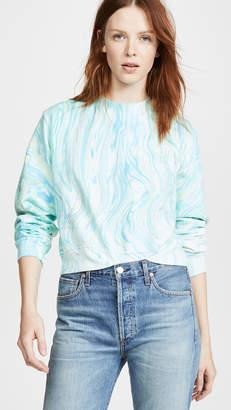 Cotton Citizen Marble Milan Crew Sweatshirt