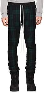 Fear Of God Men's Checked Wool Twill Jogger Pants-Navy