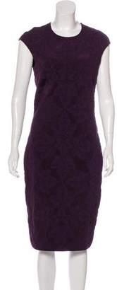 Alexander McQueen Sleeveless Midi Dress